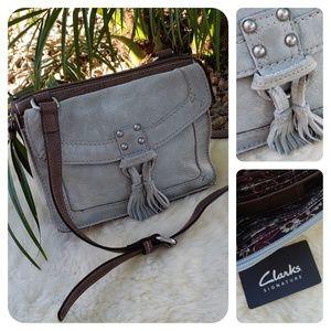 Clarks crossbody leather bag
